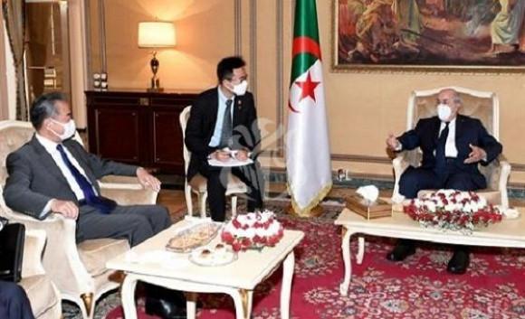 Algérie-Chine/Le Président Tebboune reçoit le ministre chinois des Affaires étrangères